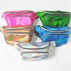 Handbags - Fashion Metallic Fanny Packs 😍
